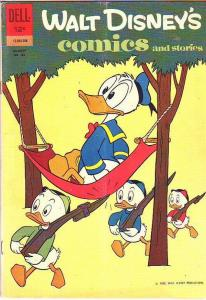 Comics and Stories, Walt Disney's #263 (Aug-62) VG+ Affordable-Grade Donald D...