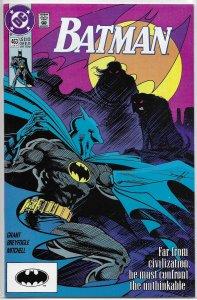 Batman   vol. 1   #463 FN (Spirit of the Beast 2)