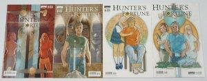 Hunter's Fortune #1-4 VF/NM complete series ALL A VARIANTS treasure hunter comic