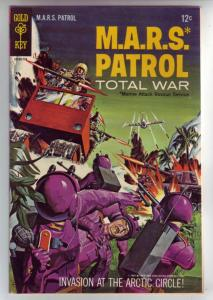 M.A.R.S. Patrol Total War #4 (Dec-66) VF- High-Grade M.A.R.S. (Sgt. Joe Strik...
