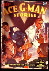 ACE G-MAN STORIES-1942 NOV-CANADIAN VARIANT G