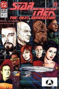 Star Trek: The Next Generation (1989 series) #20, VF+ (Stock photo)
