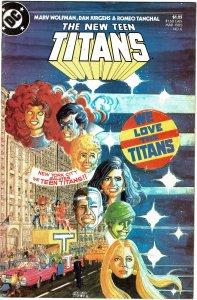 New Teen Titans #6  (1984) VF