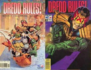 DREDD RULES (FT/Q) 2-3  He IS The Law !