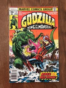 Godzilla: King of the Monsters #8 (Marvel; March, 1978) - VF