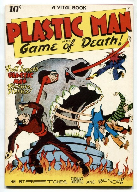 Flashback #11 1974-Reprints Plastic Man #1  from 1943- FN