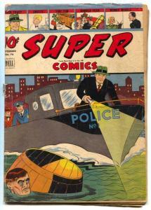 Super #76 1944- Dick Tracy cover- Dell comics G