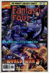 FANTASTIC FOUR #13, NM+, Vol 2, World War 3, Invisible Girl, 1996, more in store