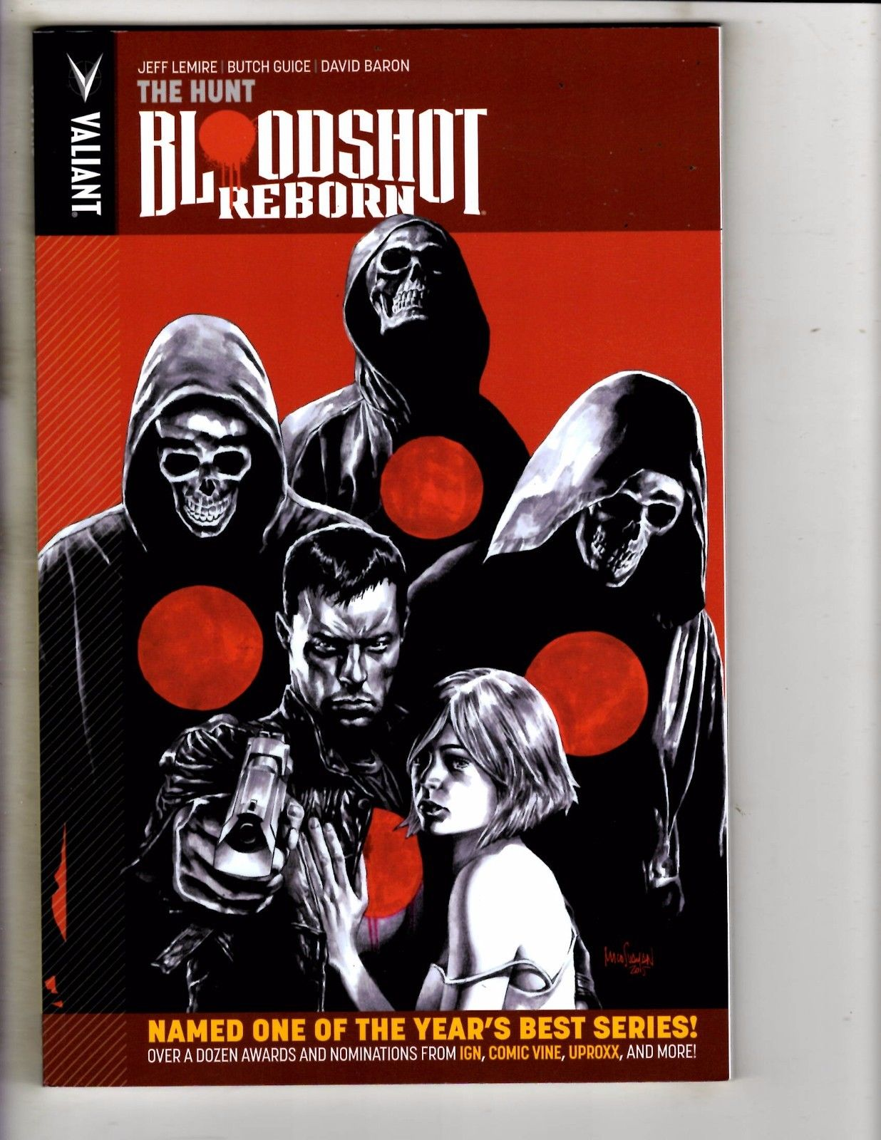 Bloodshot Reborn The Hunt Valiant Comics TPB Graphic Novel