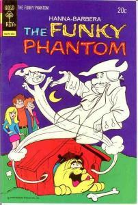 FUNKY PHANTOM 9 VF  March 1974 COMICS BOOK