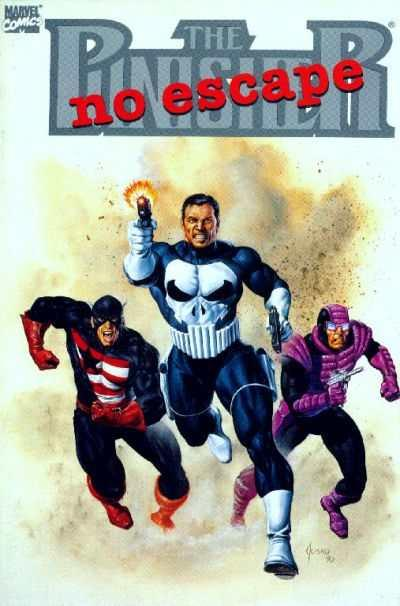 Punisher (1987 series) No Escape #1, NM- (Stock photo)
