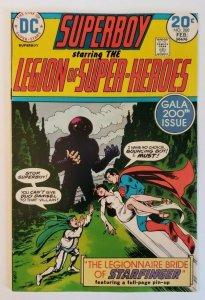 Superboy #200 (1974) Legion Of Super-Heroes Anniversary & Wedding Issue F/VF 7.0