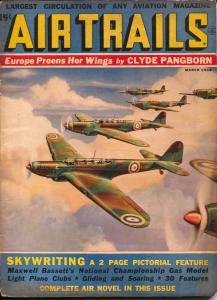Air Trails 3/1938-hero pulp -Bill Barnes-Frank Tinsley-G. L. Eaton-VG