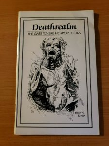 Deathrealm #2 The Gate Where Horror Begins ~ VERY FINE VF ~ (1987, Mark Rainey)