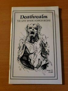Deathrealm #2 The Gate Where Horror Begins ~ VERY FINE VF ~ (1987, Mark Rainey)