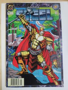 Steel Annual 1994 DC Elseworlds John Henry Knight Signed by Humberto Ramos