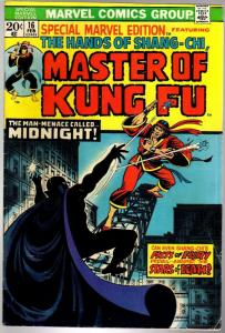 MASTER OF KUNG FU  16 VG- Feb. 1974
