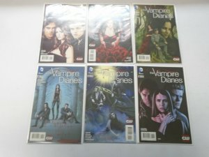 Vampire Diaries set #1-6 NM (2013 DC)