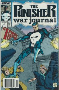 Punisher War Journal #1 (First Series, 1988), NM+