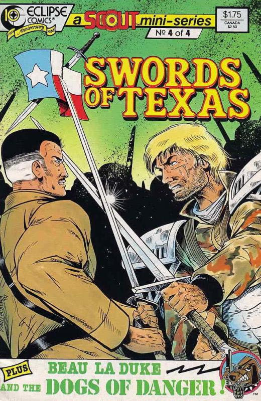 Swords of Texas #4 FN; Eclipse | save on shipping - details inside