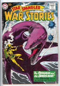 Star Spangled War Stories #94 (Jan-61) VG+ Affordable-Grade Dinosaur, Enemy A...