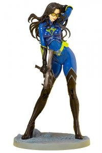 Kotobukiya GI Joe: Baroness 25th Anniversary Blue Color Bishoujo Statue NEW!