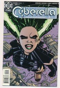 Cyberella #2 1996 Helix Comics VF+ HC6