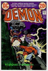 DEMON #5, VF, Jack Kirby, Evil Witch, Merlin, Fear,1972, more JK in store
