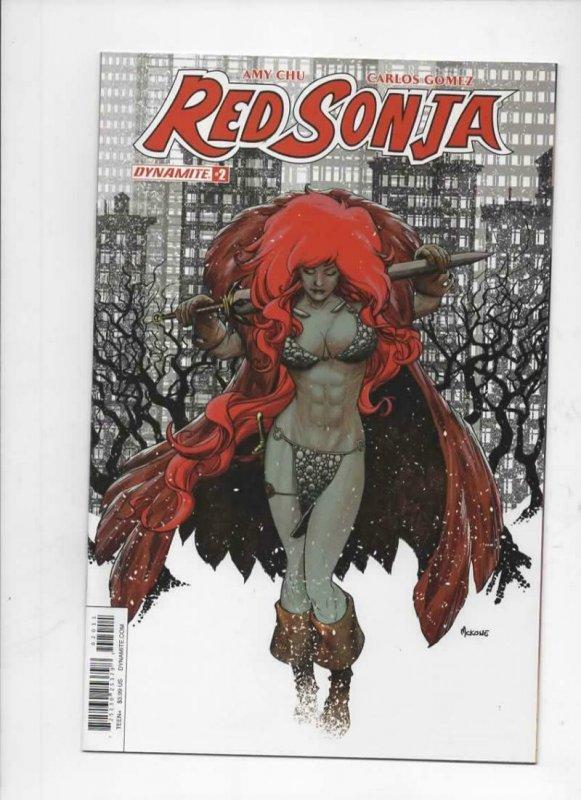 RED SONJA #2, NM-, She-Devil, Sword, McKone, A, Howard, 2017, more  in store