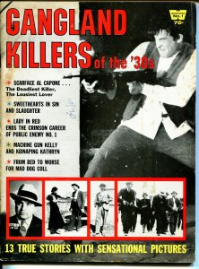 Gangland Killers of The '30s #1 1968-!st issue-Warren Beatty-Al Capone-VG/FN
