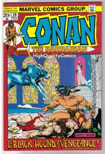 CONAN the BARBARIAN #20, VF+, Robert Howard, Barry Smith, more in store