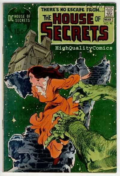 HOUSE of SECRETS #90, FN, Neal Adams, Buckler, Symbionts, more in store