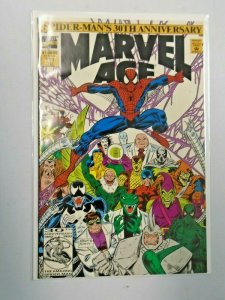 Marvel Age #114 Spider-Man's 30th Anniversary 6.0 FN (1992)