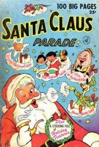Santa Claus Parade #2 FAIR; Ziff-Davis   low grade comic - save on shipping - de