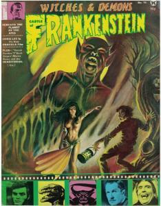 CASTLE OF FRANKENSTEIN 15 VG-F CHRIS LEE,Karloff copy D