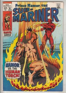 Sub-Mariner #14 (Jun-69) NM- High-Grade Sub-Mariner (Prince Namor)