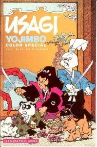 USAGI YOJIMBO COLOR SP 2 (3.50 CVR;1991) VF+ Sept. 1991 COMICS BOOK