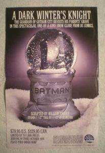 DARK WINTER'S KNIGHT Promo Poster, 11x17, 1999, Unused, more Promos in store