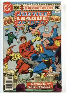 JUSTICE LEAGUE OF AMERICA #183-comic book-DARKSEID APPEARS