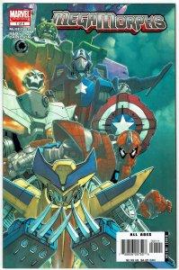 MegaMorphs #1 Sean McKeever Spider-Man Hulk Iron Man NM