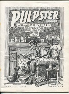 Pulpster-PulpCon 25 Program Book #6 8/15/1996-only California appearance-Dan Fow