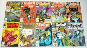 Punisher War Journal #1-80 VF/NM complete series - marvel comics 75 76 77 78 79