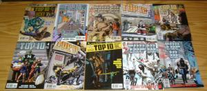 Top 10 #1-12 VF/NM complete series + variant ALAN MOORE america's best comics