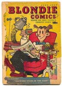 Blondie Comics #6 1948- low grade golden age