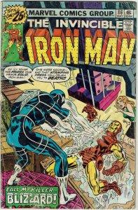 Iron Man #86 (1968 v1) Blizzard FR