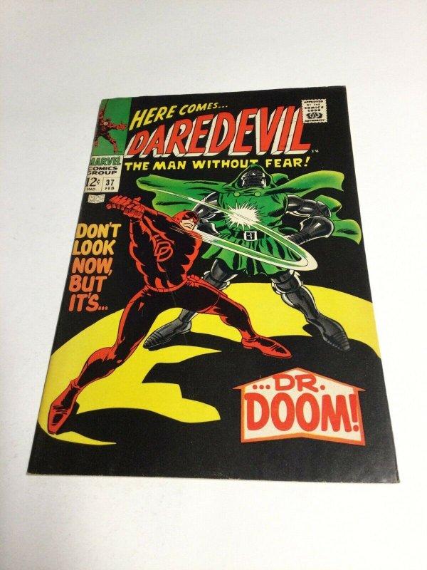 Daredevil 37 Vf- Very Fine- 7.5 Marvel