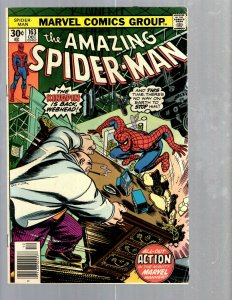 Amazing Spider-Man # 163 VF- Marvel Comic Book MJ Vulture Goblin Scorpion TJ1