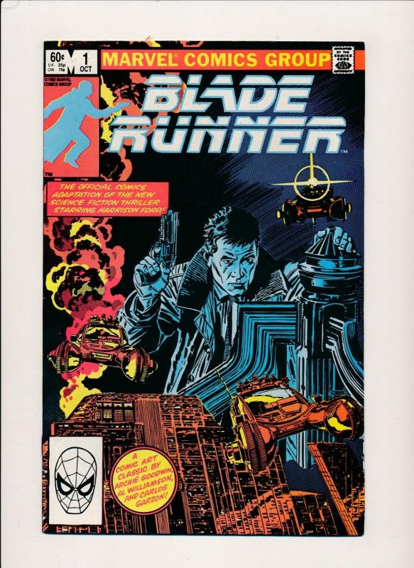 Marvel Comics BLADE RUNNER #1 1st  1st print(1982) VF (PF183)