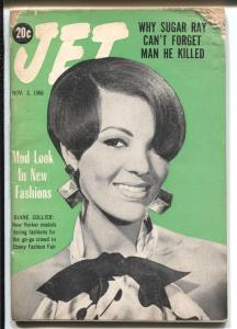 Jet 11/3/1966-Diane Collier-African-American culture-Sugar Ray-VG