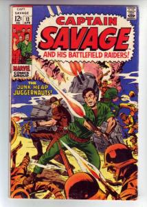 Captain Savage and His Leatherneck Raiders #13 (Apr-69) FN Mid-Grade Captain ...